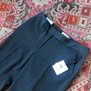 Calvin Klein NWT Gray Professional Work Slacks